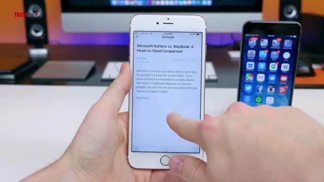 نقد و بررسی آیفون 6 اس (iPhone 6s) به زبان فارسی