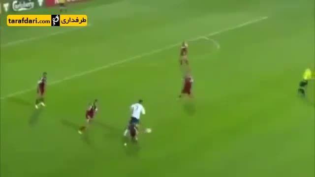 حرکت تماشایی کریستیانو رونالدو مقابل ارمنستان