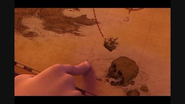 """تینکربل ودزد دریایی""""دوبله فارسی""""پارت6"""