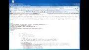 فیلم آموزشی تبدیل قالب HTML به جوملا 1.5 - بخش دوم