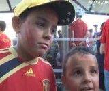 جشن قهرمانی تیم اسپانیا