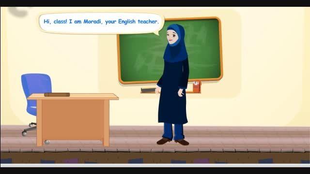 مکالمه زبان انگلیسی درس اول پایه ی هفتم