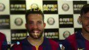 بازیکنان بارسلونا در بازی فیفا 15