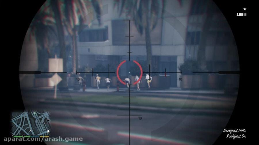 گیمپلی GTA V در PS4 (خودم بازی کردمD:)