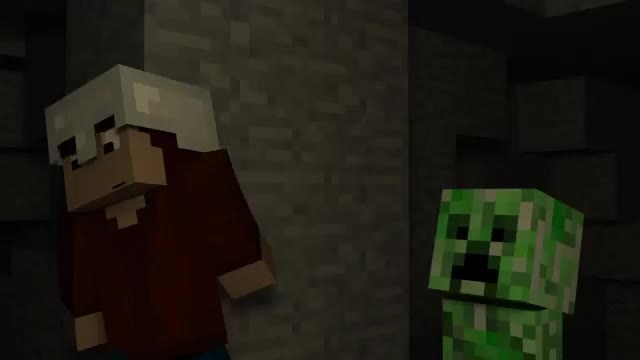 "song ""don't mine at night"" parody of minecraft"