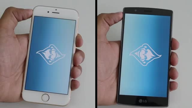LG G4 vs Apple iPhone 6 _Apps Speed Test