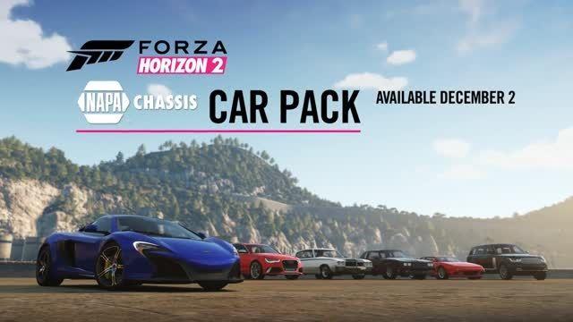 تریلر پک DLC بازی Forza Horizon 2