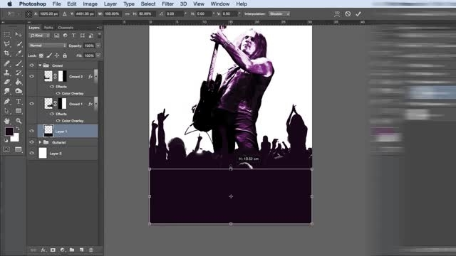 Designing a Concert Poster in Photoshop