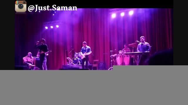 کنسرت سامان جلیلی در بندر عباس، آهنگ تردید (جاست سامان)