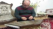 آهنگ باز شب اومد انوشیروان روحانی اجرا با سنتور : علی نوری
