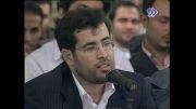 شعر خوانی سید مهدی موسوی در محضر رهبر انقلاب