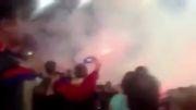 آتش بازی هواداران رم و زسکا مسکو