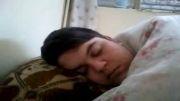 خونه دانشجویی...اذیت کردن پیمان کشتکار در خواب