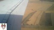 Landing at Mashhad Airport