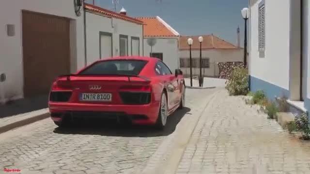 آئودی R8 V10 Plus - طراحی و رانندگی
