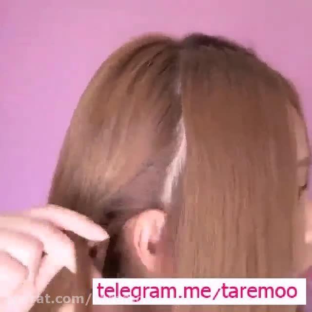 آموزش بافت مو تلی زیبا در تار مو