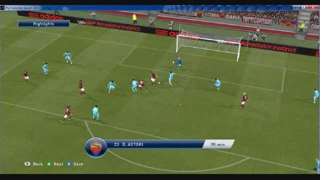 هفته بیستم لیگ برتر گل های بازی رم-ناپولی