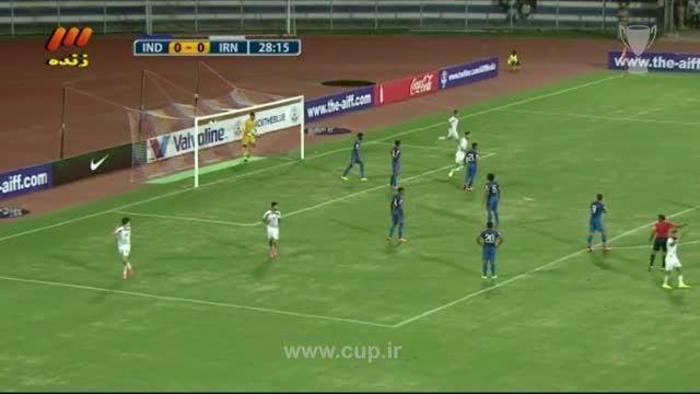 خلاصه بازی مقدماتی جام جهانی 2018 -ایران(3)-هند(0)