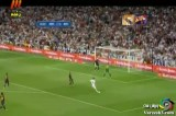 گل زیبای رونالدو به بارسلونا در بازی برگشت سوپر جام