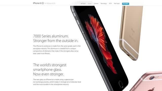 این هم از تست خم شدن iPhone 6s