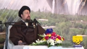 آیت الله سید حسن خمینی در ششمین سالگرد آیت الله جمی