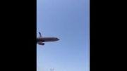 ساعاتی پیش هواپیمایی در شیراز سقوط کرد