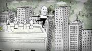 انیمیشن زیبای  In the fall