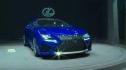 نمایشگاه ژنو 2014: رونمایی لکسس RC 350 اف اسپرت مدل 2014
