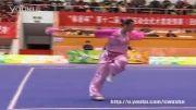 ووشو ، اینم از بهترین جی ین زن چین ، مسابقات 2013 ، مقام 1