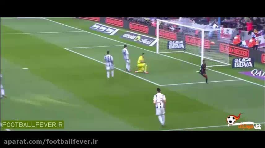 خلاصه بازی بارسلونا 4 - رئال سوسیداد 0