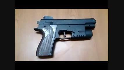 روش جازدن و تعویض باتری تفنگ اسباب بازی عملیات ویژه