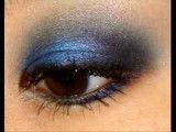 سایه چشم زدن آبی