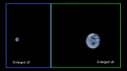 زمین و ماه از نگاه فضاپیمای جونو