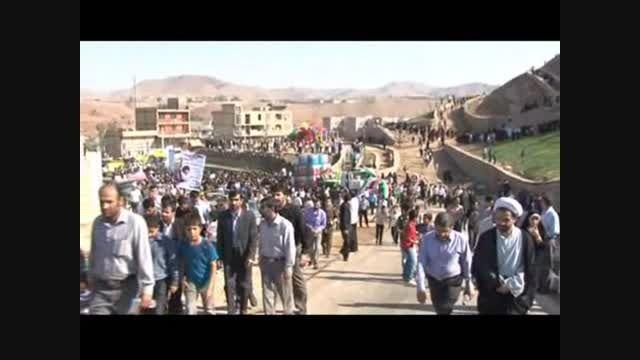 انتقال مقبره شهید بهنام محمدی بدون نبش قبر