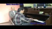 اجرای زیبای اهنگ qamgin mahni توسط استاد شیخ باقری