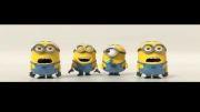 کلیپ انیمیشن | آواز خواندن مینیون های انیمیشن من نفرت انگیز