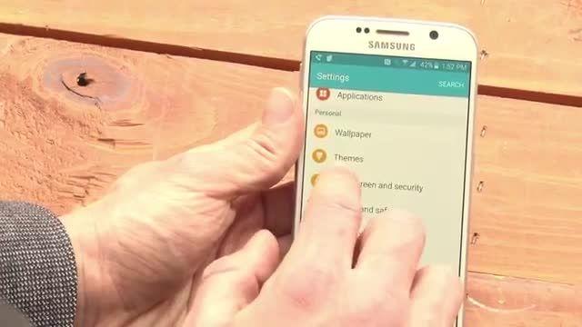 سنسور اثر انگشت Samsung Galaxy S6