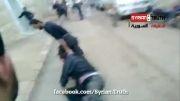 شکنجه ظالمانه یک سوری توسط تروریست های سوری