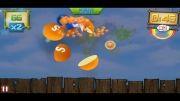 بازی Fruit Ninja Skittles (آیفون 5)