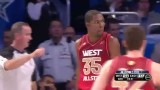2012 ALL-STAR Game West vs East Highlights