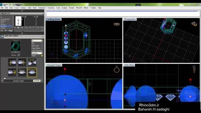 آموزش راینو-آموزش ماتریکس 004-Rhino3dm.ir