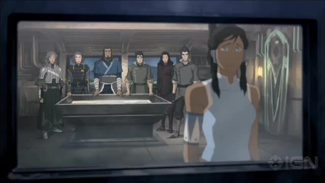 The Legend of Korra - Korra Stars on the Book 3 Finale