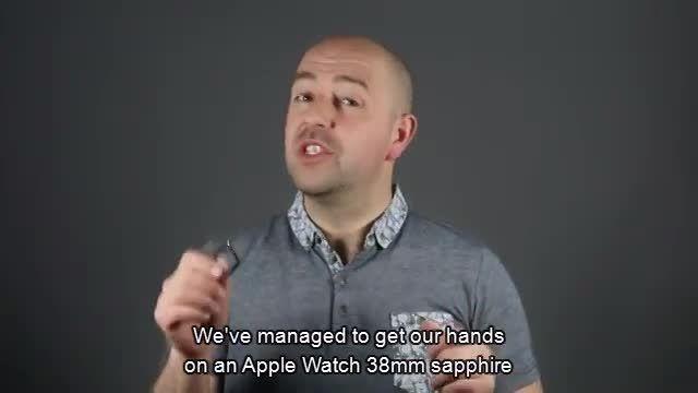 مقاومت اپل واچ در برابر خط خش