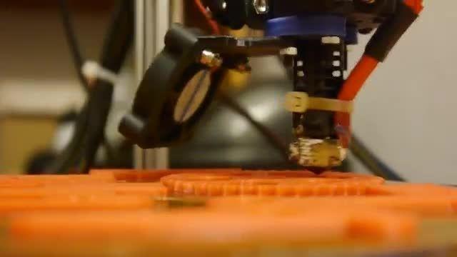 پرینت سه بعدی با سرعت بالا با پرینتر سه بعدی دلتا