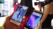 Sharp AQUOS Crystal vs HTC One M8- first look