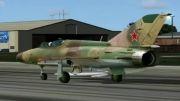 پرواز دیدنی جنگنده میگ 21  شبیه ساز پرواز