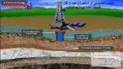 انیمیشن استخراج نفت و گاز