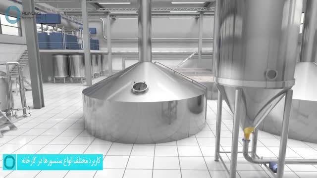 کاربرد مختلف انواع سنسورها در کارخانه