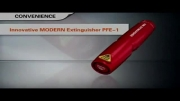 کپسول اطفاء حریق PFE 1 - کوچکترین کپسول آتش نشانی دنیا !!!!