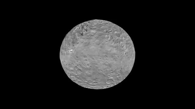 ویدیویی سه بعدی از جدیدترین یافته های فضاپیمای «دان»